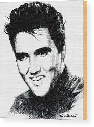 Elvis Presley Wood Prints