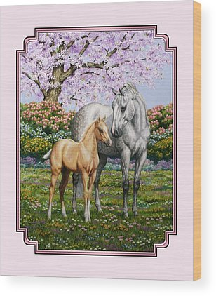 Gray Mare Wood Prints