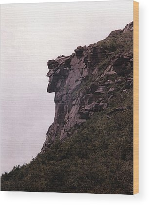 Old Man Of The Mountain Wood Prints