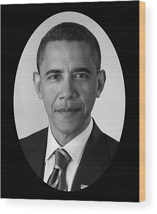 Barack Obama Wood Prints
