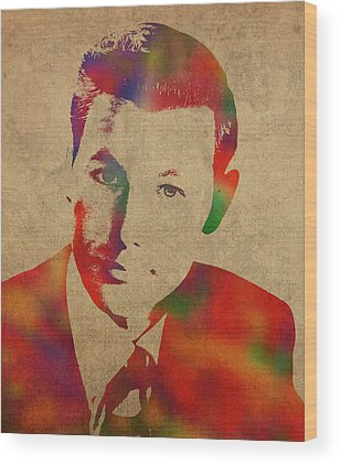 Johnny Carson Wood Prints
