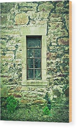 Brick House Photographs Wood Prints