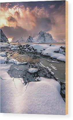 Norway Wood Prints