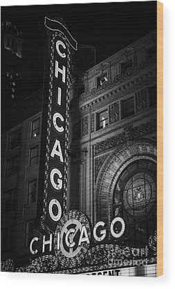 Downtown Chicago Wood Prints
