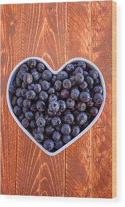 Blueberries Wood Prints
