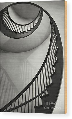 Staircases Wood Prints