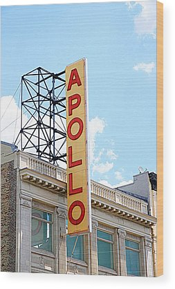 Apollo Theater Wood Prints