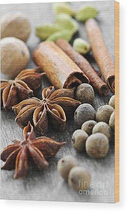 Nutmeg Wood Prints