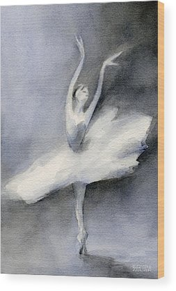 Ballerina Wood Prints