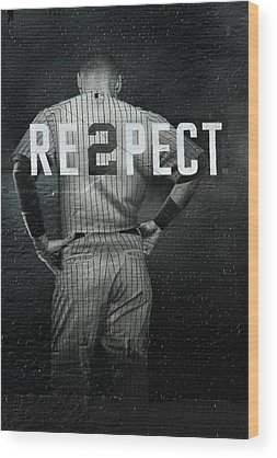 Derek Jeter Wood Prints