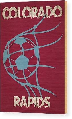 Soccer Stadium Wood Prints