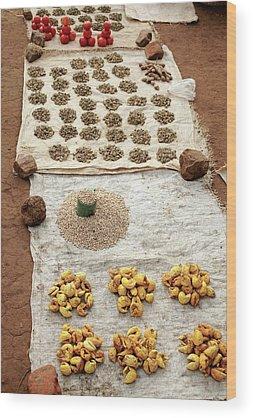 Solanum Lycopersicum Wood Prints
