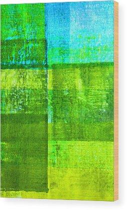 Dark Olive Green Wood Prints