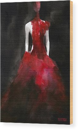 Red Wood Prints