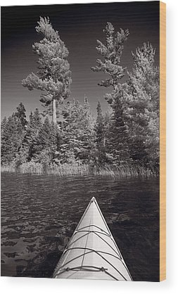 Kayak Wood Prints