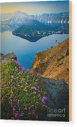 Crater Lake Wood Prints