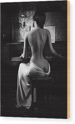 Fine Art Nude Wood Prints