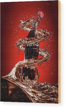 Coke Wood Prints