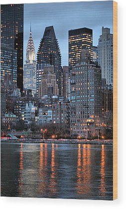 Roosevelt Island Wood Prints