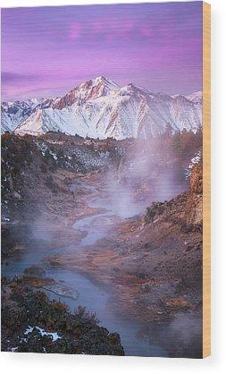 Sierra Nevada Wood Prints