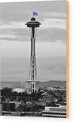 Seattle Seahawks Wood Prints