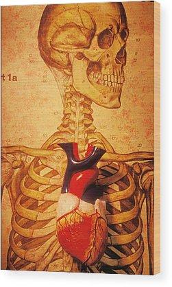 Skeleton Wood Prints