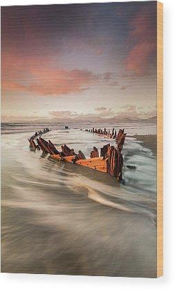 Shipwrecks Wood Prints