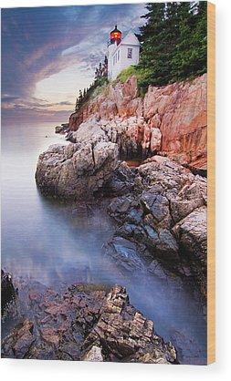 Maine Shore Wood Prints