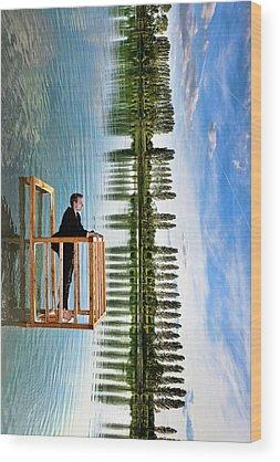 Standing Wood Prints