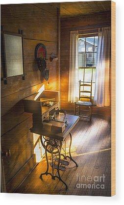 Sewing Machines Wood Prints