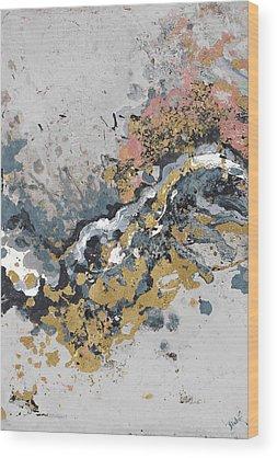 Turbulence Wood Prints