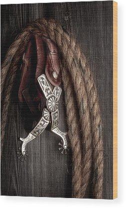 Horse Tack Wood Prints