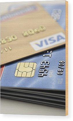 Debits And Credits Wood Prints