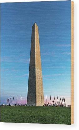 Lincoln Memorial Wood Prints