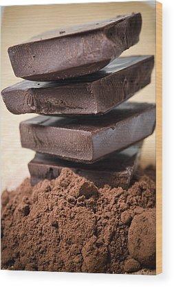 Chocolate Wood Prints