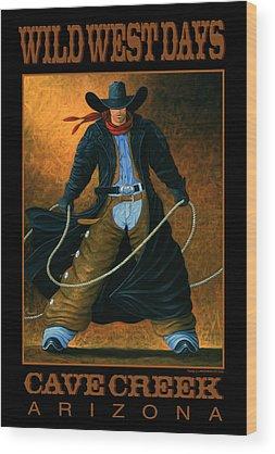 Western Wood Prints