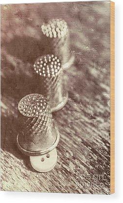 Seamstress Wood Prints