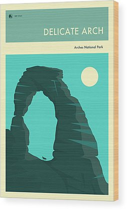 Delicate Arch Wood Prints
