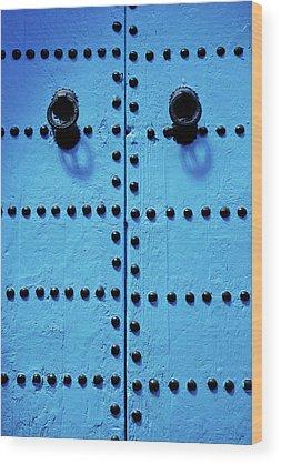 Door Knocker Wood Prints