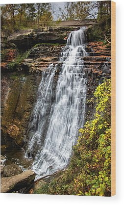 Brandywine Falls Wood Prints
