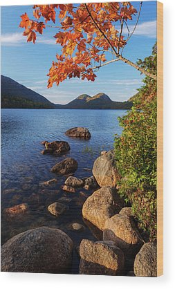 Acadia National Park Wood Prints