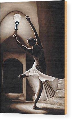 Lady Slipper Wood Prints