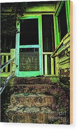 Abandoned Elkmont Wood Prints