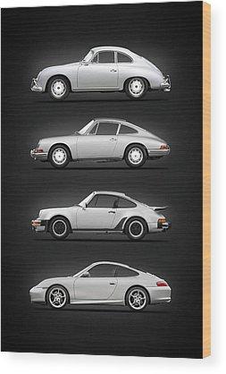 Porsche 356 Wood Prints