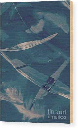 Reflecting Ponds Wood Prints