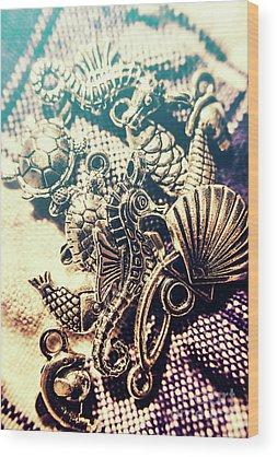 Metal Fish Wood Prints
