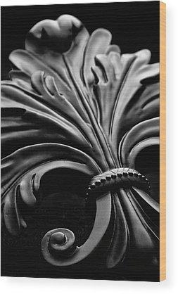 Fleur De Lis Wood Prints