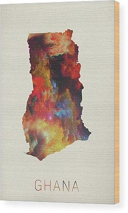 Ghana Wood Prints