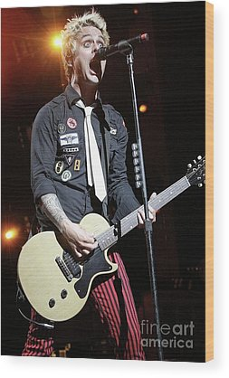 Green Day Wood Prints