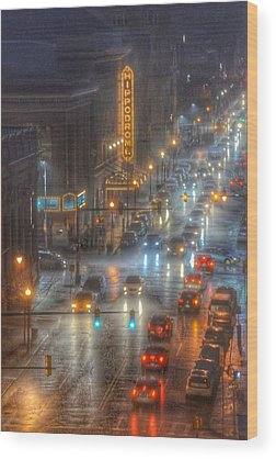 Center Glow Wood Prints